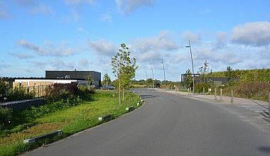 Innova'Park  voie principale