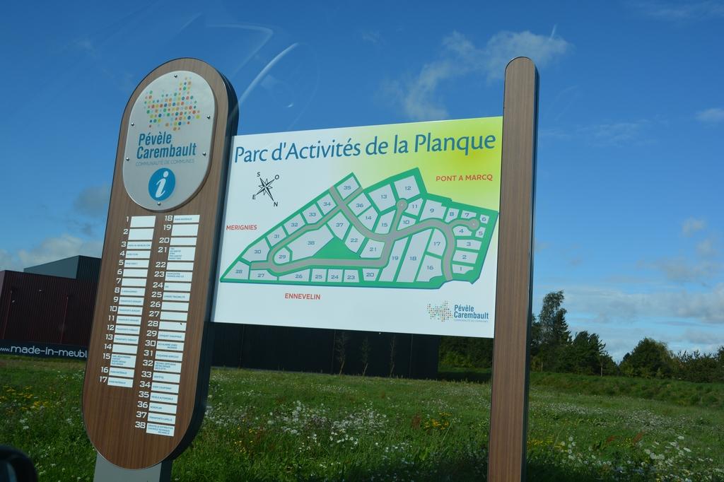 Parc d'activité de la Planque - Pont à Marcq - Ennevelin