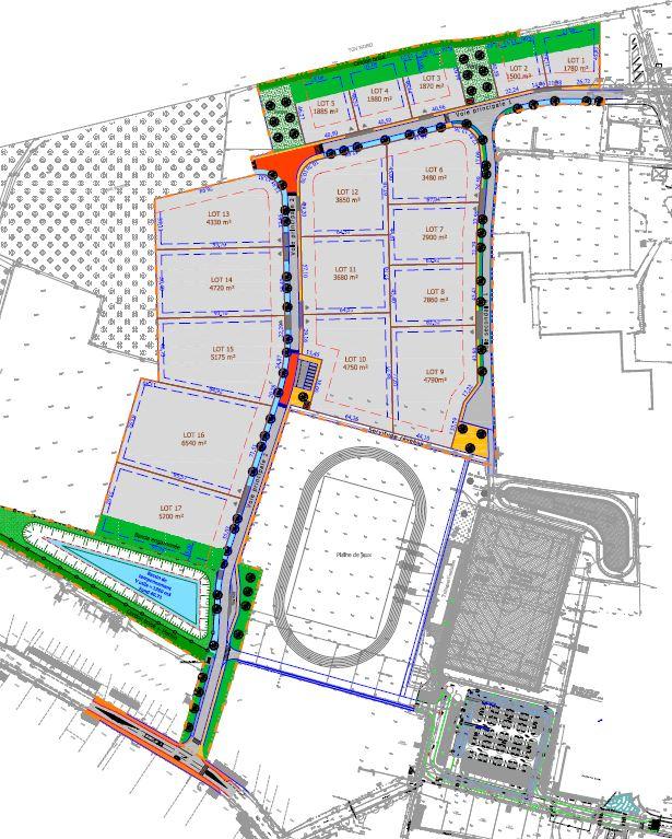 Plan parcellaire Innova'Park