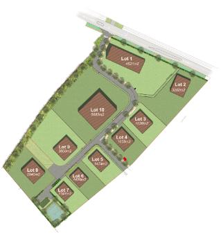 Plan parc Moulin d'eau
