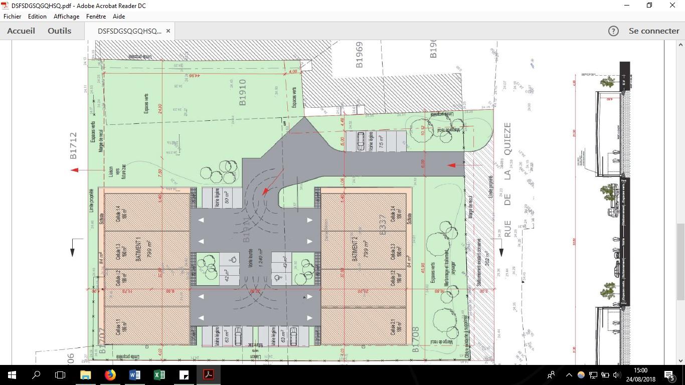 Plan village d'entreprises Saméon