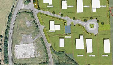 plan d'aménagement parc d'activités de maraiches Wannehain